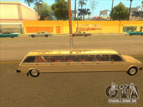 VAZ 2104 13-door para GTA San Andreas vista traseira