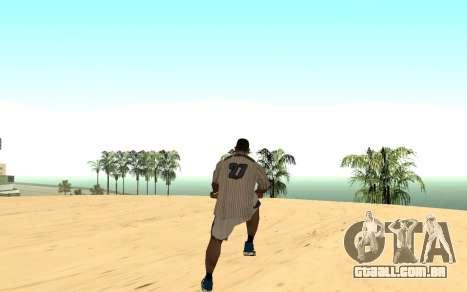 Invisibile BMX para GTA San Andreas por diante tela