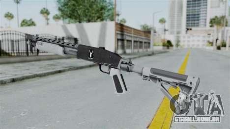 GTA 5 Pump Shotgun - Misterix 4 Weapons para GTA San Andreas segunda tela