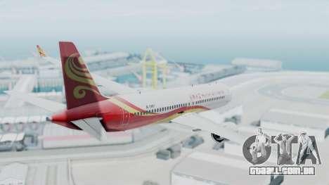 Comac C919 Hainan Airlines Livery para GTA San Andreas vista direita