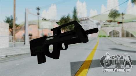 GTA 5 Assault SMG para GTA San Andreas segunda tela