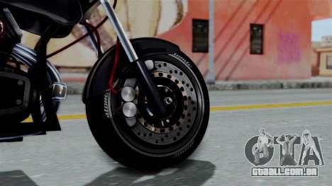 Turbike 2.0 para GTA San Andreas traseira esquerda vista