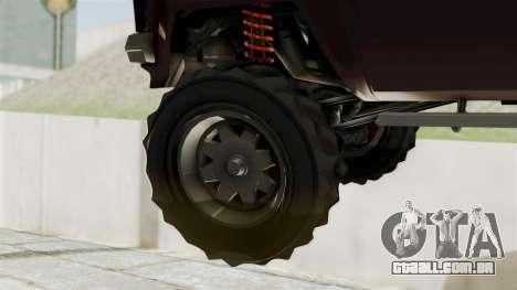 GTA 5 Karin Technical Cleaner IVF para GTA San Andreas traseira esquerda vista