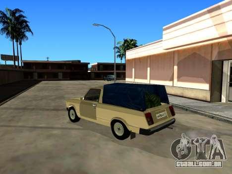 VAZ 2104 de Captação de para GTA San Andreas vista direita