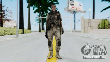 Crysis 2 US Soldier 6 Bodygroup B para GTA San Andreas segunda tela