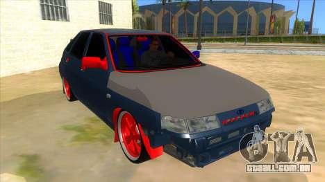 VAZ 2112 Hobo para GTA San Andreas vista traseira