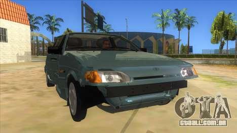 VAZ 2113 shifter para GTA San Andreas vista traseira