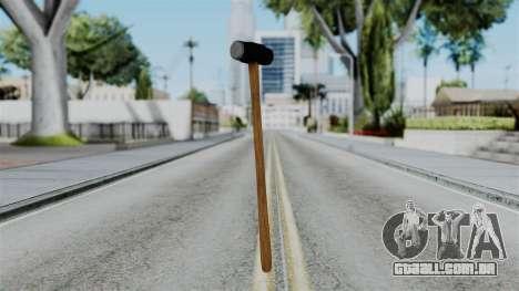 No More Room in Hell - Sledgehammer para GTA San Andreas
