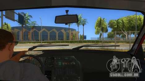 Dacia 1310L 1999 para GTA San Andreas vista interior