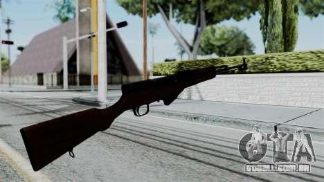 No More Room in Hell - Simonov SKS para GTA San Andreas terceira tela