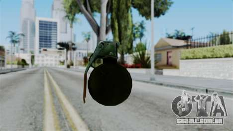 No More Room in Hell - Grenade para GTA San Andreas terceira tela