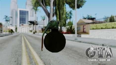 No More Room in Hell - Grenade para GTA San Andreas terceira tela