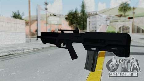 GTA 5 Advanced Rifle para GTA San Andreas segunda tela