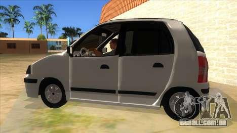 Hyundai Atos 2006 para GTA San Andreas esquerda vista