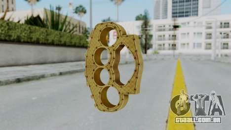 The Ballas Knuckle Dusters from Ill GG Part 2 para GTA San Andreas segunda tela