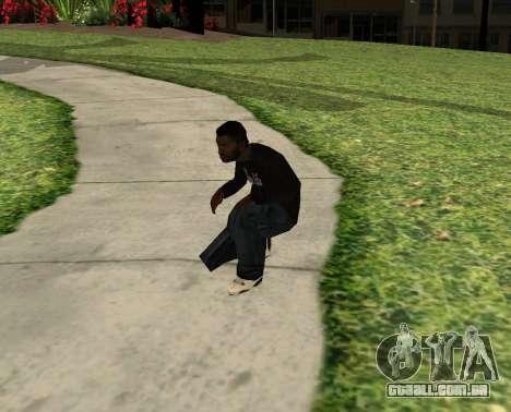 Black Madd Dogg (Thug life) para GTA San Andreas terceira tela