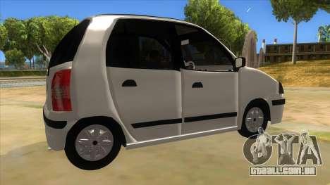 Hyundai Atos 2006 para GTA San Andreas vista direita