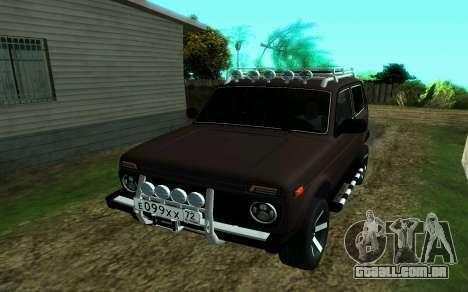VAZ 2121 Niva Forester para GTA San Andreas