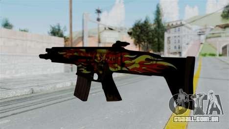 SCAR-L Extra PJ para GTA San Andreas segunda tela