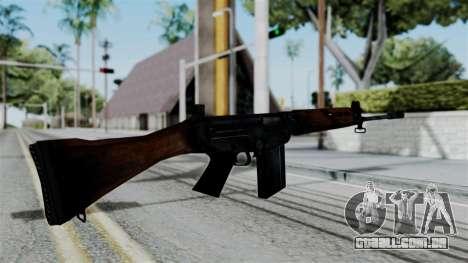 No More Room in Hell - FN FAL para GTA San Andreas terceira tela
