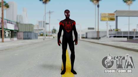 Marvel Future Fight Spider Man Miles v2 para GTA San Andreas segunda tela