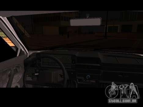 VAZ 21099 Carro Sem rede de Aterragem para GTA San Andreas vista direita