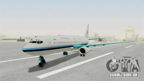 Boeing 737-800 Business Jet Indian Air Force para GTA San Andreas
