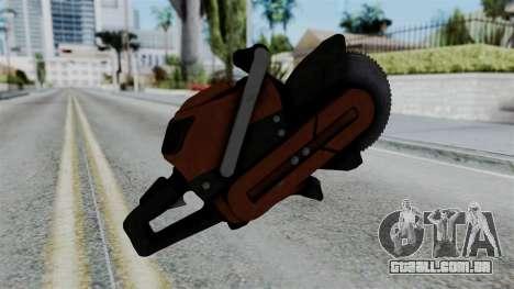 No More Room in Hell - Abrasive Saw para GTA San Andreas segunda tela