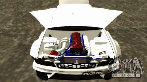 Nissan Cedric WideBody para GTA San Andreas interior