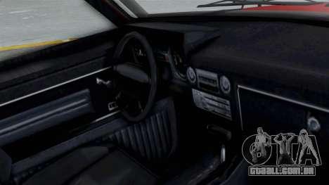 GTA 5 Karin Rebel 4x4 para GTA San Andreas vista direita