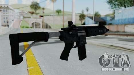 GTA 5 Carbine Rifle para GTA San Andreas segunda tela