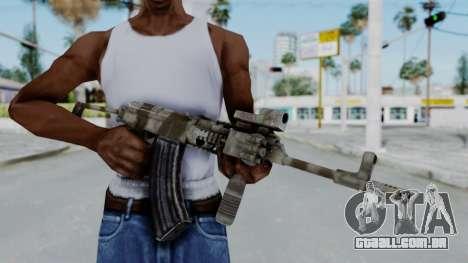 Arma OA AK-47 Eotech para GTA San Andreas terceira tela
