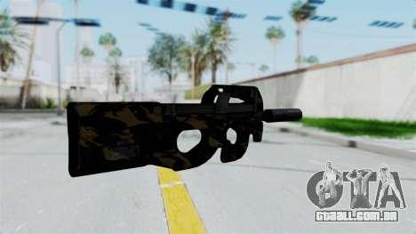 P90 Camo2 para GTA San Andreas segunda tela