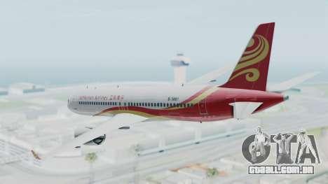 Comac C919 Hainan Airlines Livery para GTA San Andreas esquerda vista