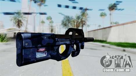 P90 Camo3 para GTA San Andreas segunda tela