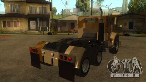 GTA V HVY Barracks Semi para GTA San Andreas vista direita
