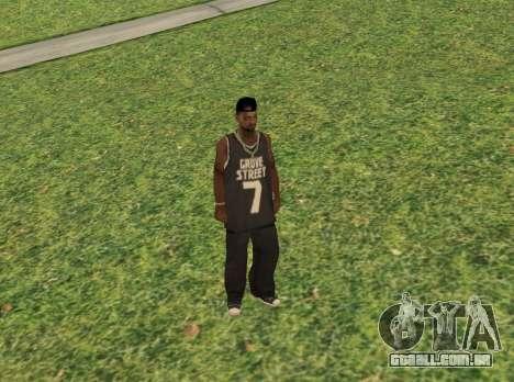 Black fam3 para GTA San Andreas