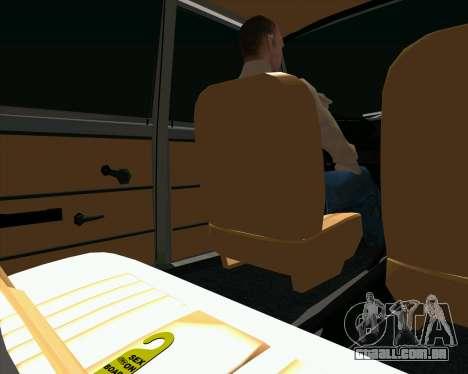 VAZ 2102 Combate Clássicos para GTA San Andreas vista traseira