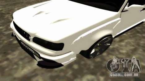 Nissan Cedric WideBody para GTA San Andreas vista superior
