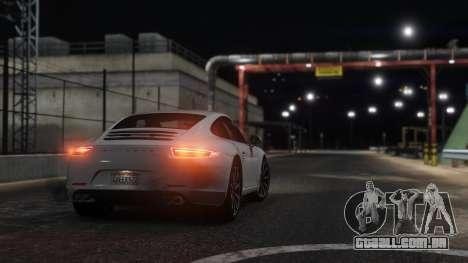 GTA 5 Porsche 911 traseira vista lateral esquerda