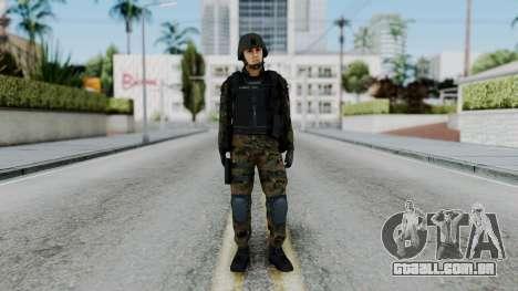Serbian Zandarmerija para GTA San Andreas segunda tela