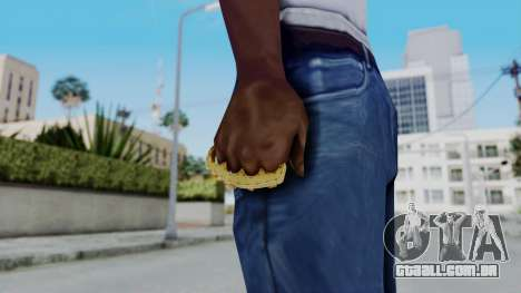 The Ballas Knuckle Dusters from Ill GG Part 2 para GTA San Andreas terceira tela