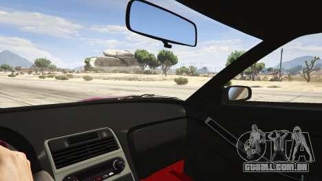 GTA 5 Honda NSX Rocket Bunny vista lateral direita
