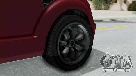 GTA 5 Vapid Radius IVF para GTA San Andreas traseira esquerda vista