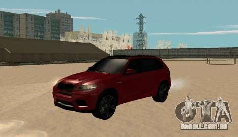BMW X5M 2011 para GTA San Andreas