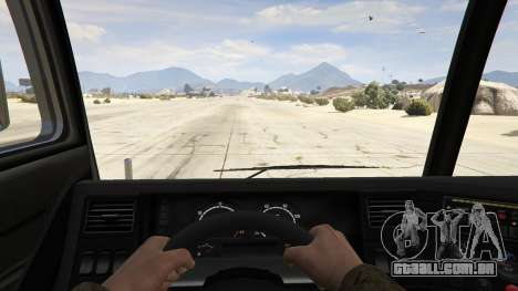GTA 5 Los Angeles Fire Truck voltar vista