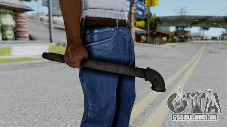 No More Room in Hell - Lead Pipe para GTA San Andreas terceira tela