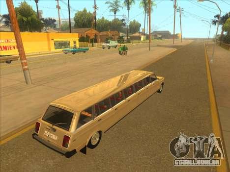 VAZ 2104 13-door para GTA San Andreas vista direita