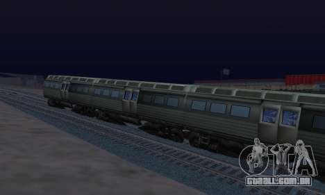 Batman Begins Monorail Train Vagon v1 para GTA San Andreas vista direita