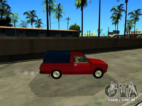 VAZ 2104 de Captação de para GTA San Andreas esquerda vista